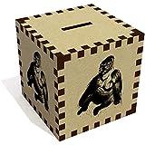 'Sitting Gorilla' Money Box / Piggy Bank (MB00007595)