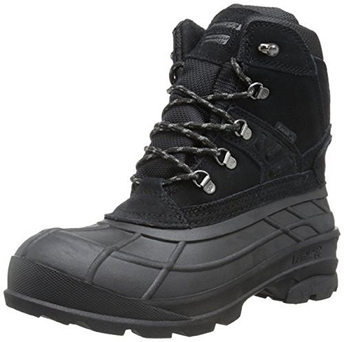 Kamik Mens Fargo Snow Boot Black 11 M Us