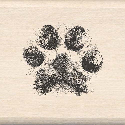 Inkadinkado Rubber Stamp With Wood Handle-Dog - Stamp Wood Rubber Dog