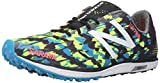 New Balance Men's 700v4 Cross-Country Rubber Track Spike, Black/Yellow, 14 D US