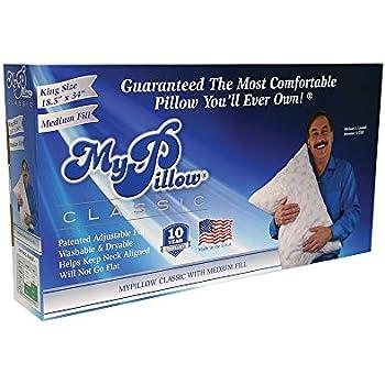 My Pillow Classic Series Bed Pillow, King Size, Medium