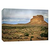 Southwest Photography, Canvas Wall Art, New Mexico Print, Southwestern Picture 'Fajada Butte'