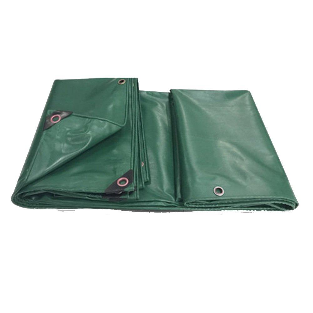NJCG Plane PVC-Regenschutztuch Sun-Plane Wasserdichtes Markisentuch LKW-Leinwand Wasserdichte Plane Kunststofftuch Ölplane Anti-Aging (Farbe : Grün, größe : 1.9  2.8m)