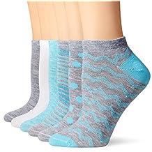 Hanes Women's ComfortBlend 6 Pack Low Cut Socks