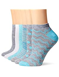 Hanes Women's ComfortBlend 6 Pack Low Cut Socks