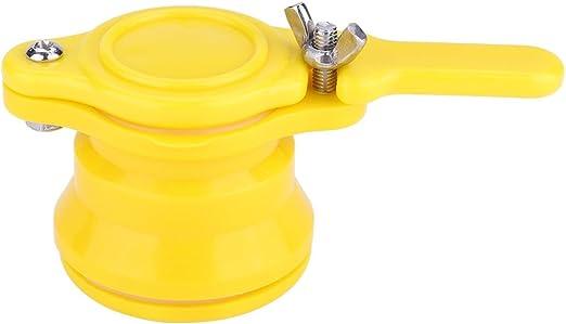 Gimiton 3Pack Honey Gate Valve Food Grade Plastic Honey Extractor Honey Tap Tool