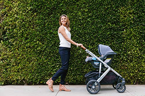 UPPAbaby MESA Infant Car Seat - Bryce (White & Grey Marl), Standard