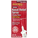 Nasal Relief Spray Pump mist Anti-Drip
