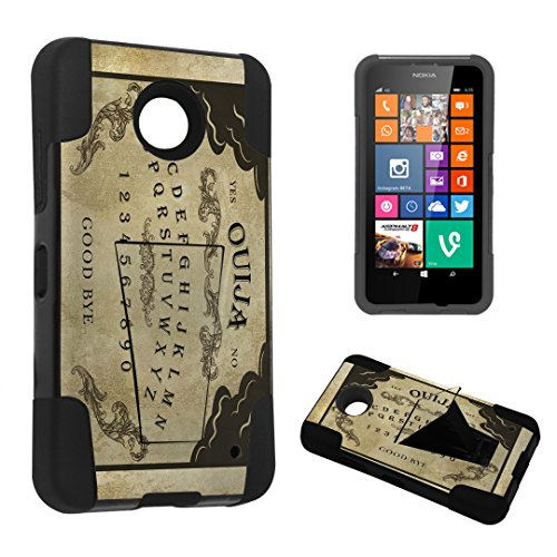 DuroCase ® Nokia Lumia 635 Kickstand Bumper Case - (Ouija Board)