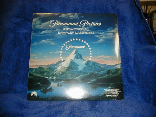 PARAMOUNT PICTURES PROMO SAMPLER LASERDISC-need a laserdisc player to use - Promo Vhs