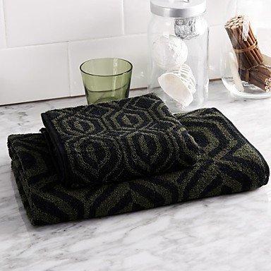 toalla de- m-pierre cardin juego de toallas , Black+White: Amazon.es: Hogar