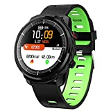 Lorchwise L3 Smart Sports Watch - Heart Rate Blood Pressure Sleep Monitoring Running Bracelet Waterproof IP67 - Full Touch Scree (CE FCC ROHS)