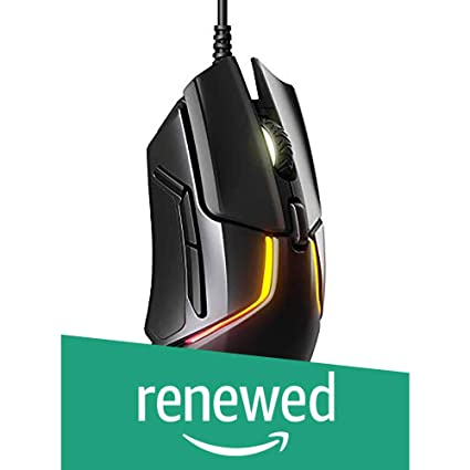 (Renewed) SteelSeries Rival 600 Gaming Mouse (Black)