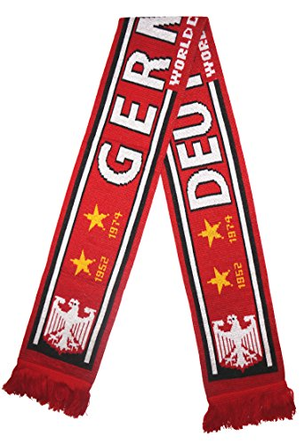 Germany Soccer Adidas Jersey (WORLD CUP 2018 FANS FAVORITE SOCCER SCARVES (GERMANY))