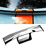 SEAMETAL Rear Spoiler Bumper Sticker 6.7in Back Roof Spoiler Trunk Bumper Cover,Universal Union Jack Decorative Spoiler Wing for all Cars,Vehicles,Safe Driving and Money Saved
