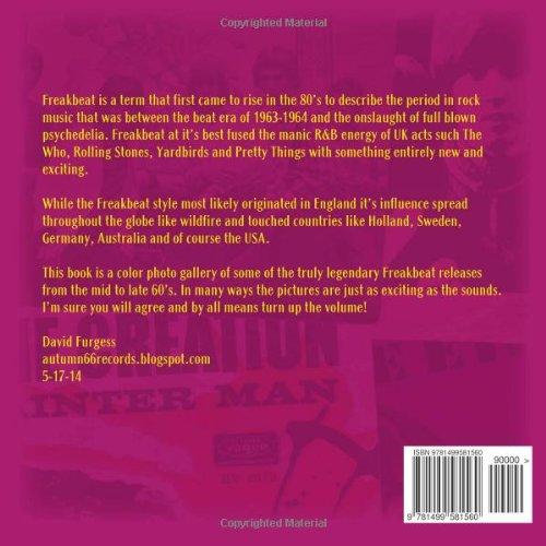 Freakbeat (1964-1969): Amazon co uk: David Furgess: 9781499581560: Books