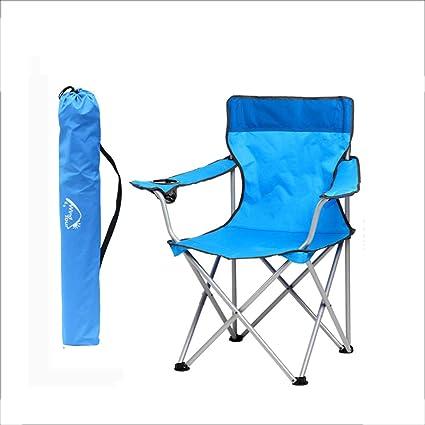 YUWJ Taburete de Camping Plegable portátil de Campo Ligero ...