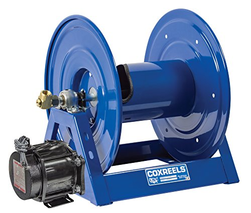 - Coxreels 1125-6-35-ED Electric 12V DC Explosion Proof 1/2HP Motor Rewind Hose Reel: 1