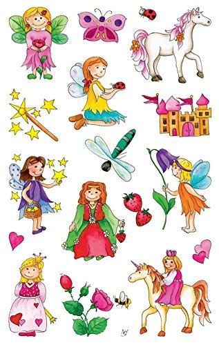 Avery Zweckform 53208 Kinder Sticker, Feen, 34 Aufkleber
