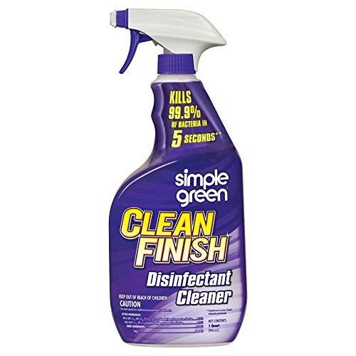 Simple Green 32 oz. Clean Finish Disinfectant (Simple Green Disinfectant)
