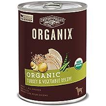 Castor & Pollux Organix Organic Turkey & Vegetable Recipe Wet Dog Food , 12.7 Oz., Case Of 12 Cans