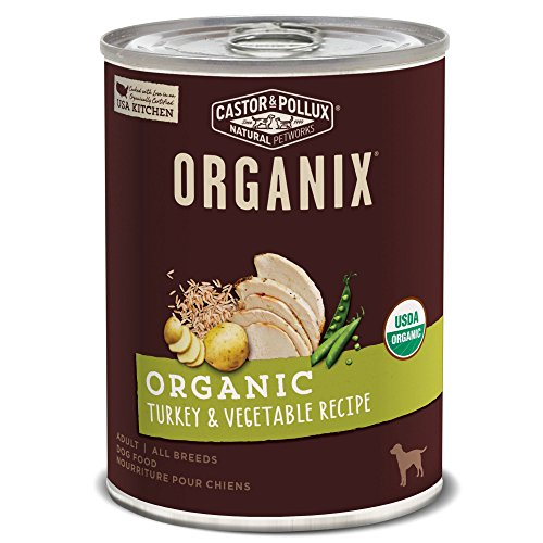 Castor & Pollux Organix Organic Turkey & Vegetable Recipe Wet Dog Food , 12.7 Oz., Case Of 12 Cans