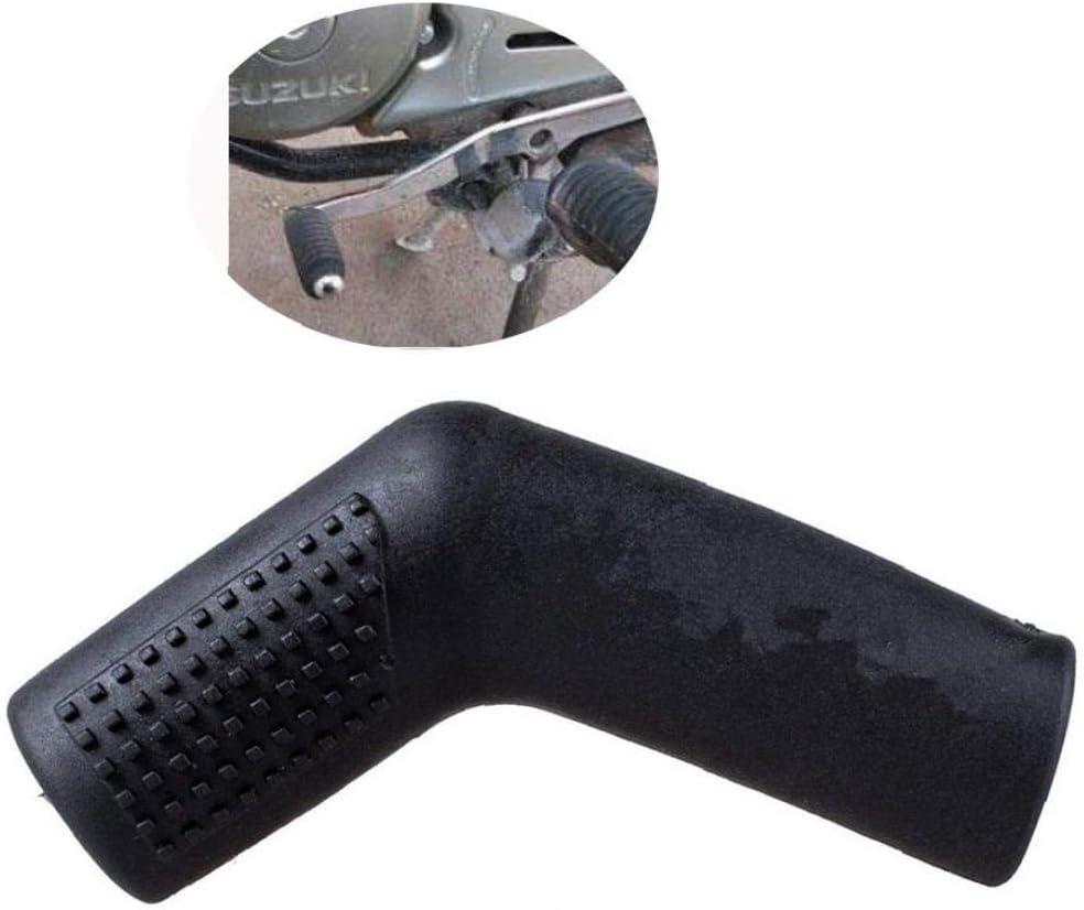 Desplazamiento de la motocicleta cubierta de la palanca del calcet/ín de goma universal y cambio de marchas Bota zapato Shift Caso Protectores Cubre Negro