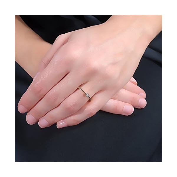 MILLE AMORI ∞ Anillo Mujer Compromiso Oro y Diamantes – Oro Blanco 9 Kt 375 ∞ Diamantes 0.01 Kt MILLE AMORI ∞ Anillo Mujer Compromiso Oro y Diamantes – Oro Blanco 9 Kt 375 ∞ Diamantes 0.01 Kt MILLE AMORI ∞ Anillo Mujer Compromiso Oro y Diamantes – Oro Blanco 9 Kt 375 ∞ Diamantes 0.01 Kt