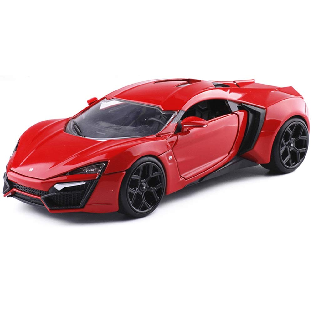 Mini Diecast Vehicles Toy Car Mode,Super Running Alloy Car Model Simulation Collection,Kids Gift Decoration ( color   Red )