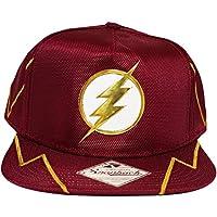 Bioworld DC Comics The Flash Chrome Weld Logo Snapback Cap Hat