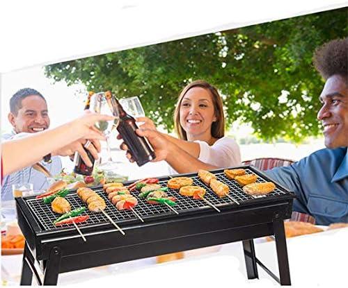 Nologo Barbecue de Haute qualité Barbecue, Pliante d'extérieur Barbecue Portable Stand BBQ de Pique-Nique Charbon for Le Festival de Pique-Nique Camping Jardin Party