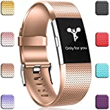 Wepro Bands Replacement for Fitbit Charge 2 HR, Small Large