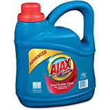 Ajax PB49276 Ajax Advanced Liquid Laundry Detergent, 134 oz, Blue