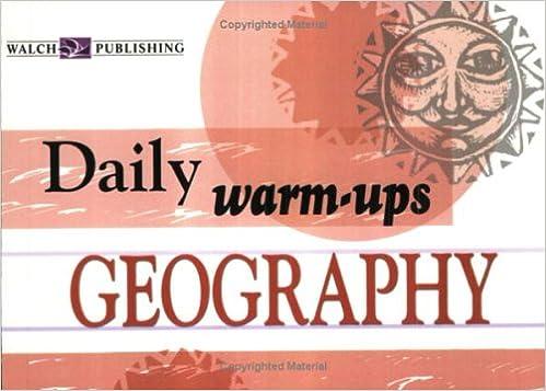Daily Warm-Ups: Geography: Walch Publishing: 9780825145148: Amazon ...