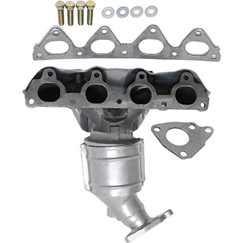 Evan Fischer Catalytic Converter with Exhaust Manifold for 96-00 Civic - Converter Civic Honda