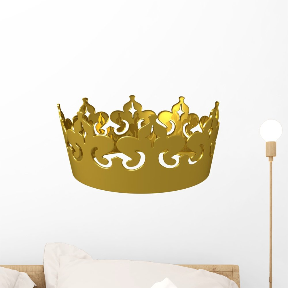 Delighted Large Gold Crown Wall Decor Pictures Inspiration - The ...