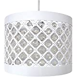 ea5dd4bbbac Moda Sparkly Ceiling Pendant Light Shade Fitting Contemporary Modern Round