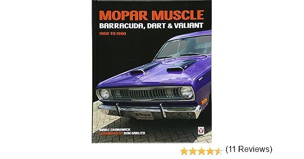 MOPAR Muscle - Barracuda, Dart & Valiant 1960-1980: Amazon.es: Cranswick, Marc: Libros en idiomas extranjeros
