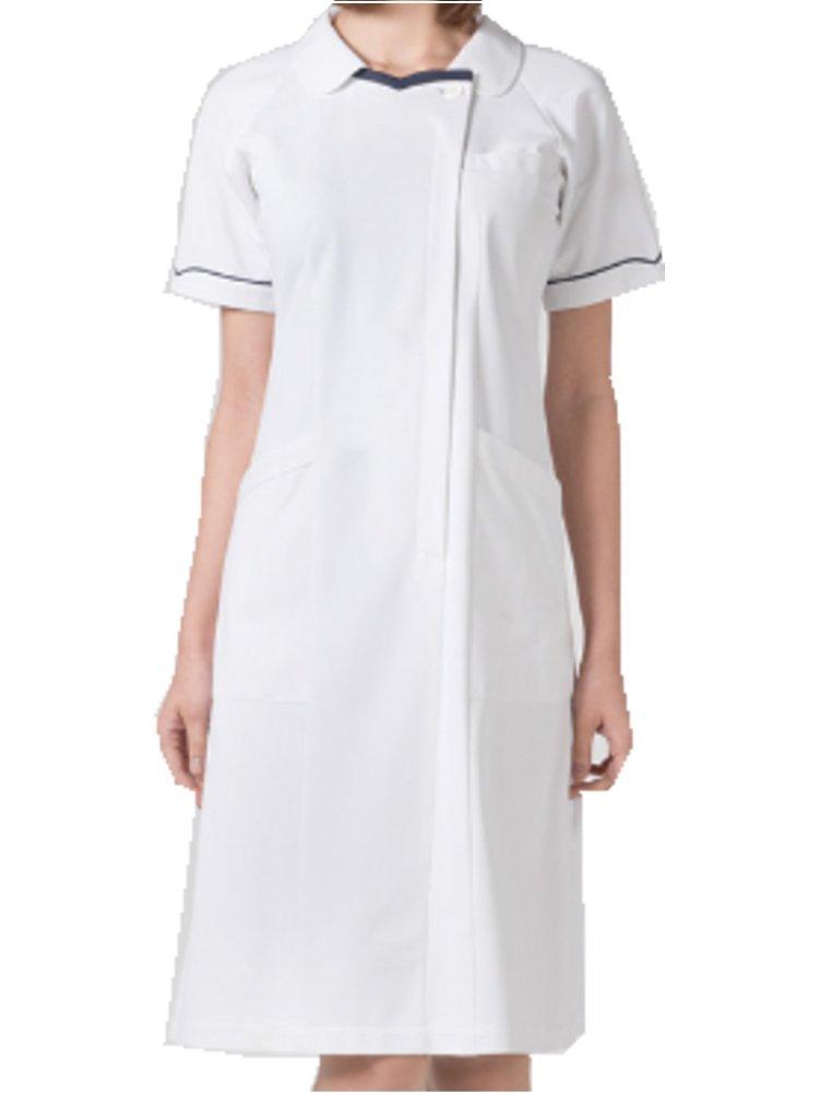 (フォーク) FOLK ワンピース 白衣 3013CR B00PFCMLIW LL ホワイト/ネイビー ホワイト/ネイビー LL