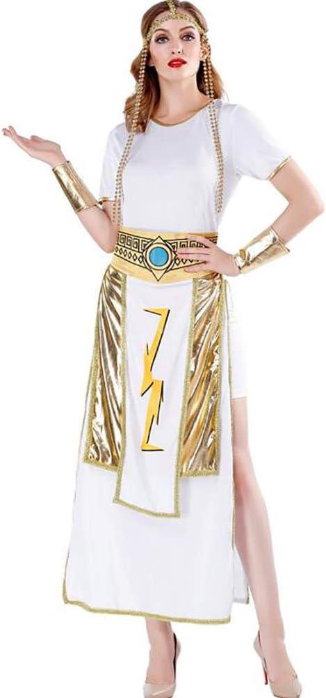 SHANGLY Mujer Halloween Disfraz De Diosa Griega Reina egipcia ...
