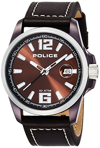 POLICE 12591JVSBNS-65 21000 Men with watch Lancer calendar [regular imported goods]