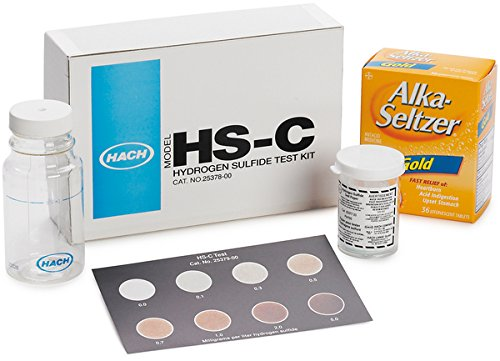 Hach 2537800 Hydrogen Sulfide Test Kit, Model HS-C