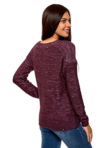 oodji Ultra Pull Femme Coupe Droite nnAxvwq