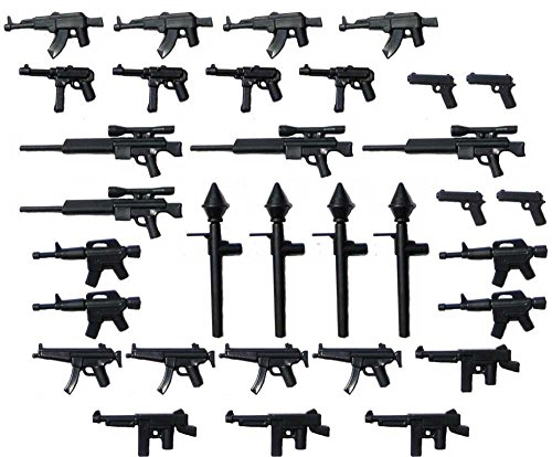 BrickArms Custom 32 Piece 2.5-Inch Weapons Pack
