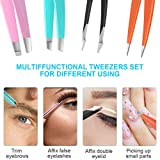 Tweezers For Women,bedace christmas gifts 4 Pack