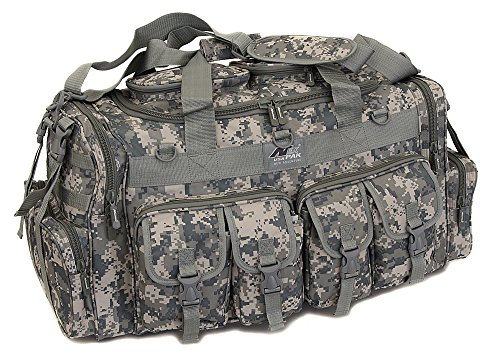 NPUSA Mens Large 30″ Inch Duffel Duffle Military Molle Tactical Cargo Gear Shoulder Bag – DiZiSports Store