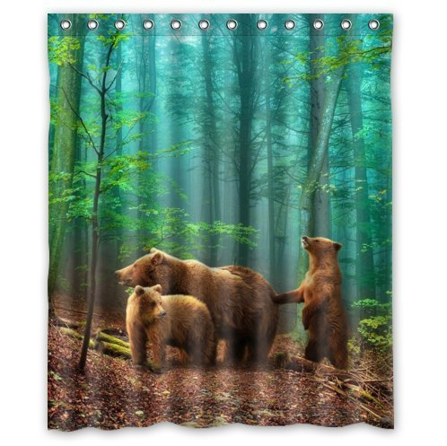 Brown Bears Curtains Price Compare