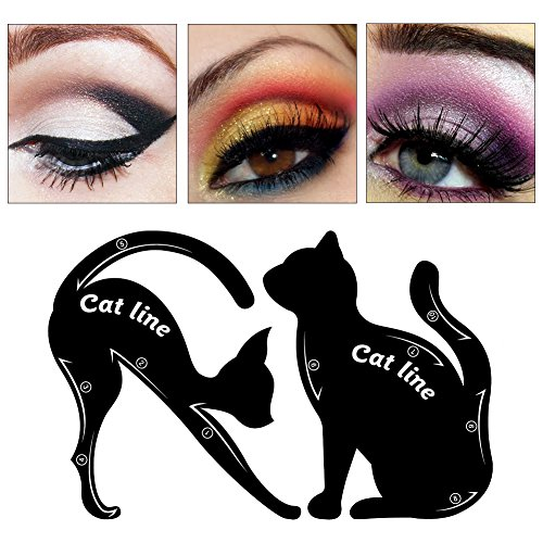 Review Cat Eyeliner Stencil, Eyeliner