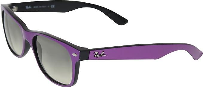 86b82f3f672b ... france ray ban mens new wayfarer rb2132 873 32 55 purple wayfarer  sunglasses 1e838 f802a