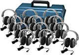 Hamilton Buhl Lab Pack, 12 HA7 Deluxe Headphones in a Carry Case